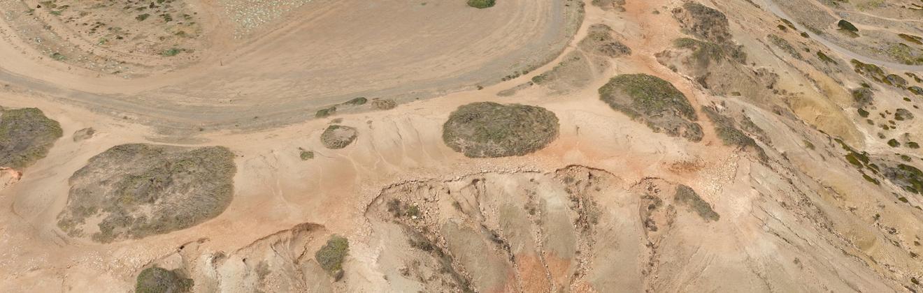 3D model of Onkaparinga Cliffs