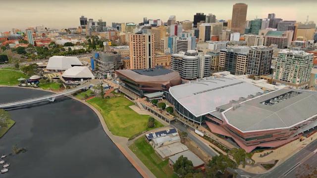High Resolution 3D Mesh Model of Adelaide (2019)