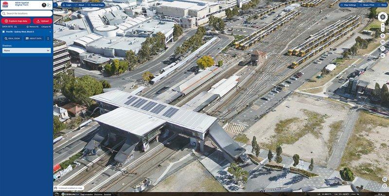 Aerometrex 3D Model of Penrith Station as seen in NSW Spatial Digital Twin.jpg
