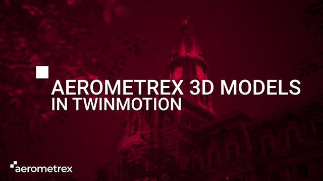 Aerometrex 3D Mesh models within Twinmotion