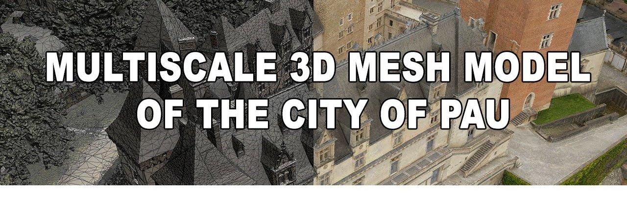 High Resolution 3D city Model of Pau
